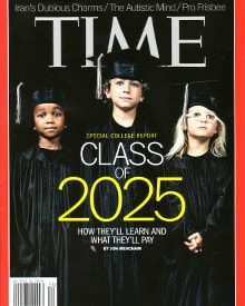 Cover photo of time magazine with leading dentists