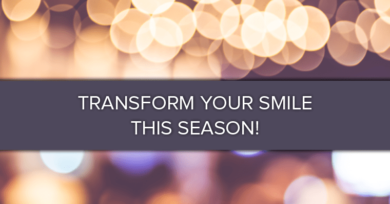 Treat yourself to the gift of a sparkling new smile this holiday season!