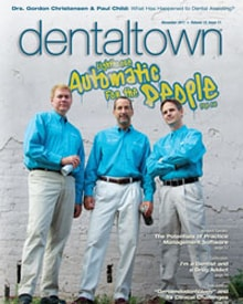 Dental town Magazine cover on Removable smile design